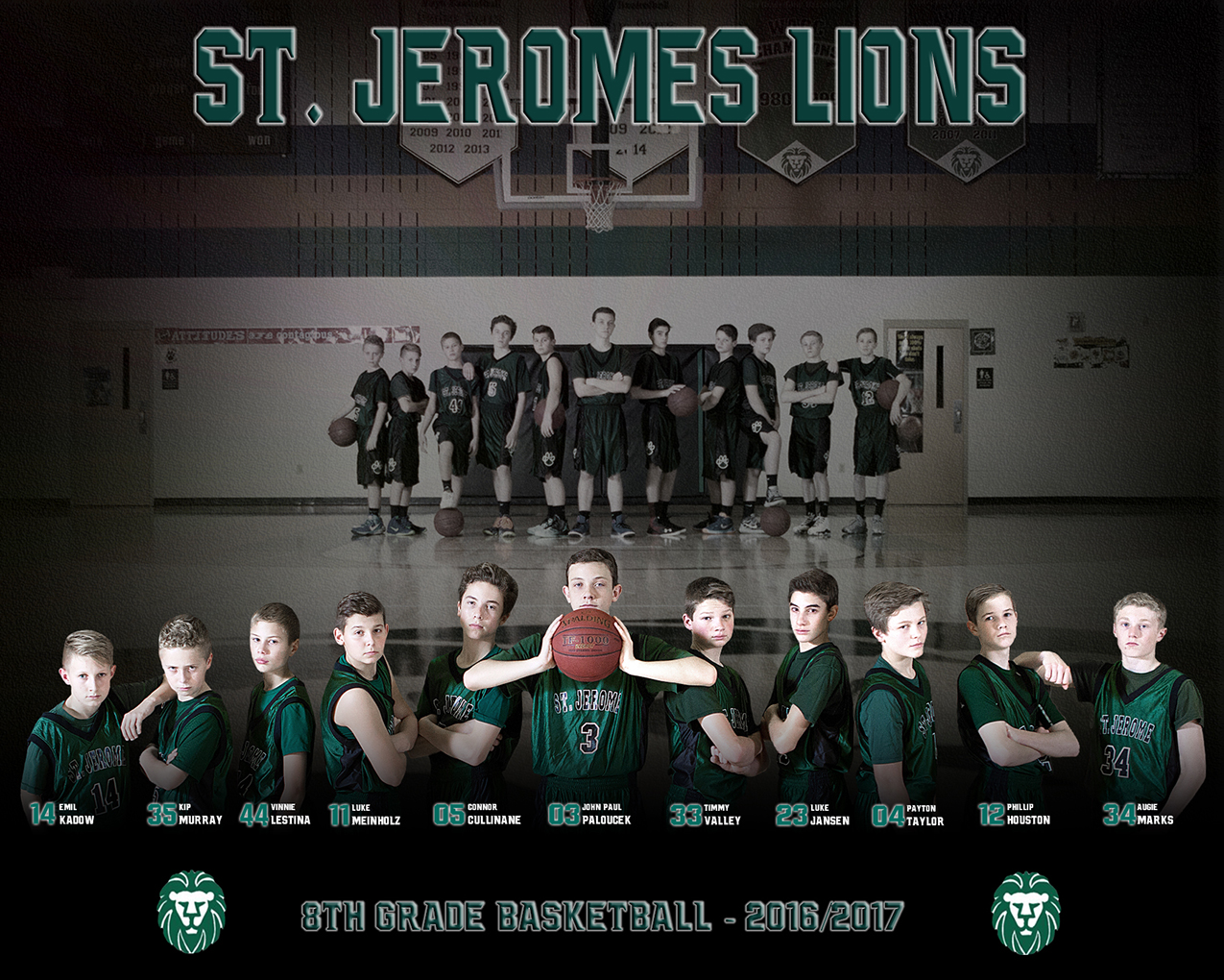 The 2017 St. Jerome Lions