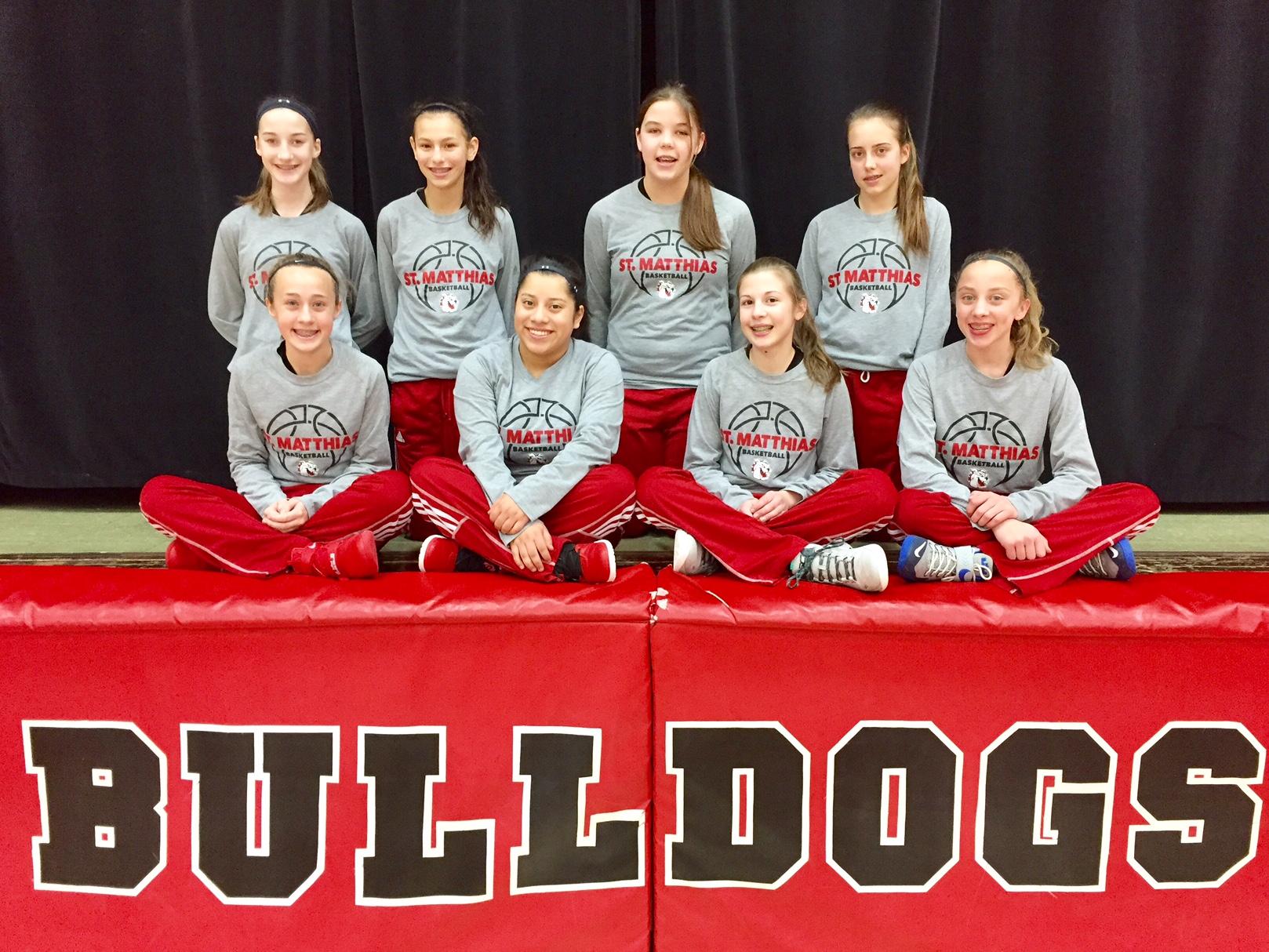 The 2017 St. Matthias Bulldogs