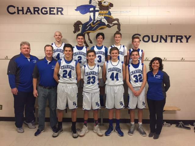 The 2017 Holy Apostles Chargers