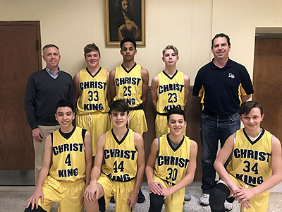 The 2018 Christ King Cavaliers