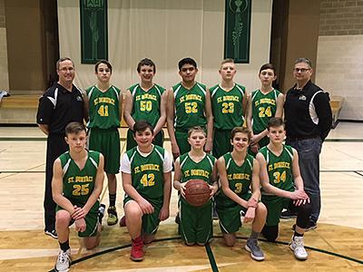 The 2018 St. Boniface Eagles