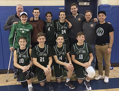 The 2018 St. John Vianney Shamrocks